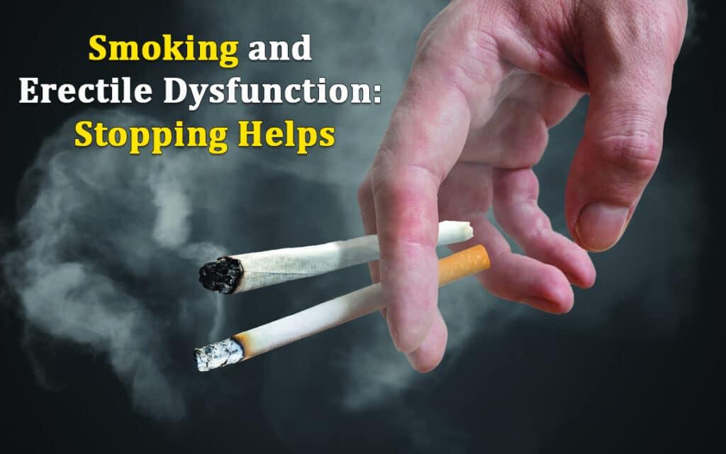 Cigarette Smoking and Erectile Dysfunction